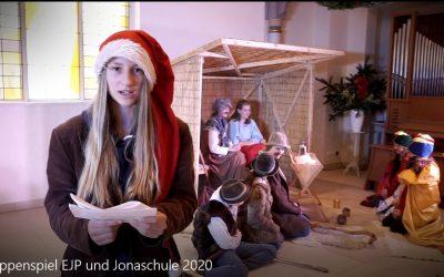 Stralsunder Jona Schule und EJP verfilmen Krippenspiel